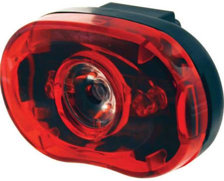 Smart 1/2 Watt rear Bike Light – Red – One size
