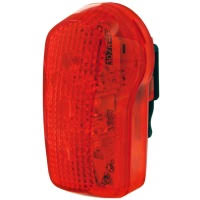 Smart 7-LED Rear Cycle Light 3 Functions