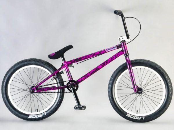 MAFIA Madmain 20 Purple Splatter BMX